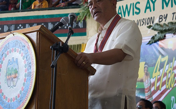 Governor Leonard G. Mayaen